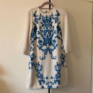 Ted Baker Baroque Print Dress